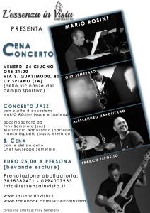 Cena Concerto 24 Giugno 2016